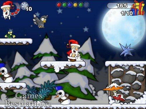 Санта Клаус и похищенные подарки