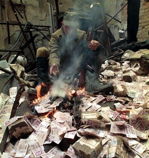 Чечня 1995 год. Сильное фото