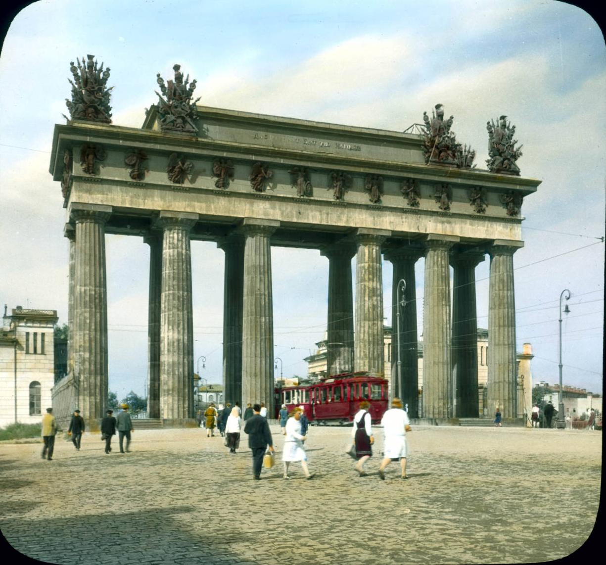 Санкт-Петербург. Московские Триумфальные ворота в честь победы над Турцией в 1828