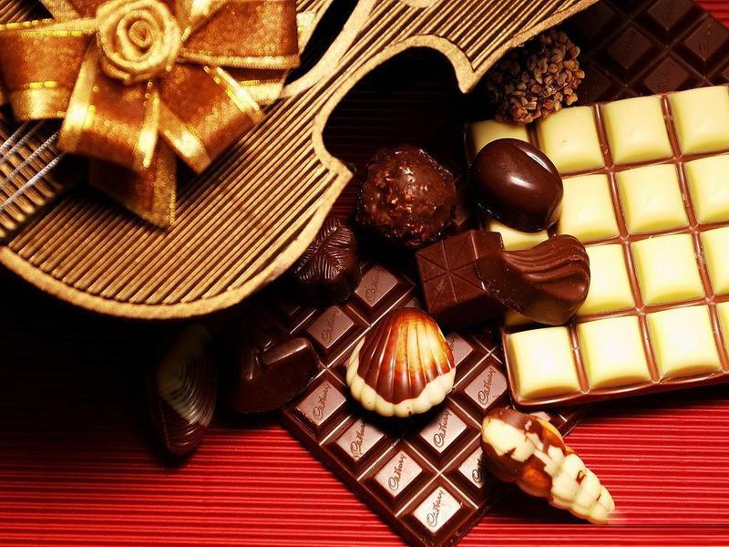 Открытки. С днем шоколада! Поздравляю вас!