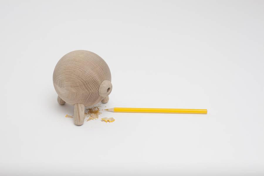 Pencil sharpener by Andrey Voronov .