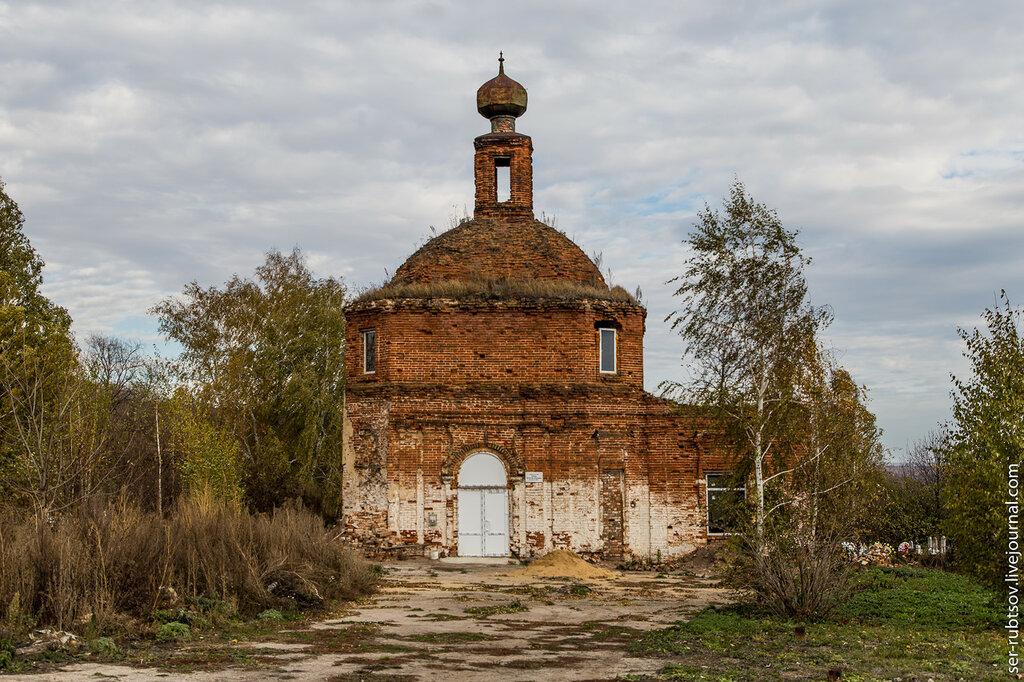 Церковь в Богучарово Тульской области