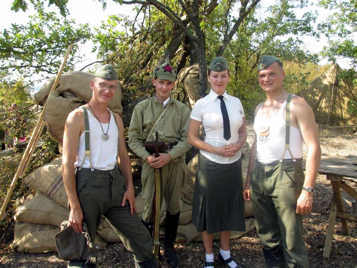Забавные моменты из жизни военных реконструкторов (118)