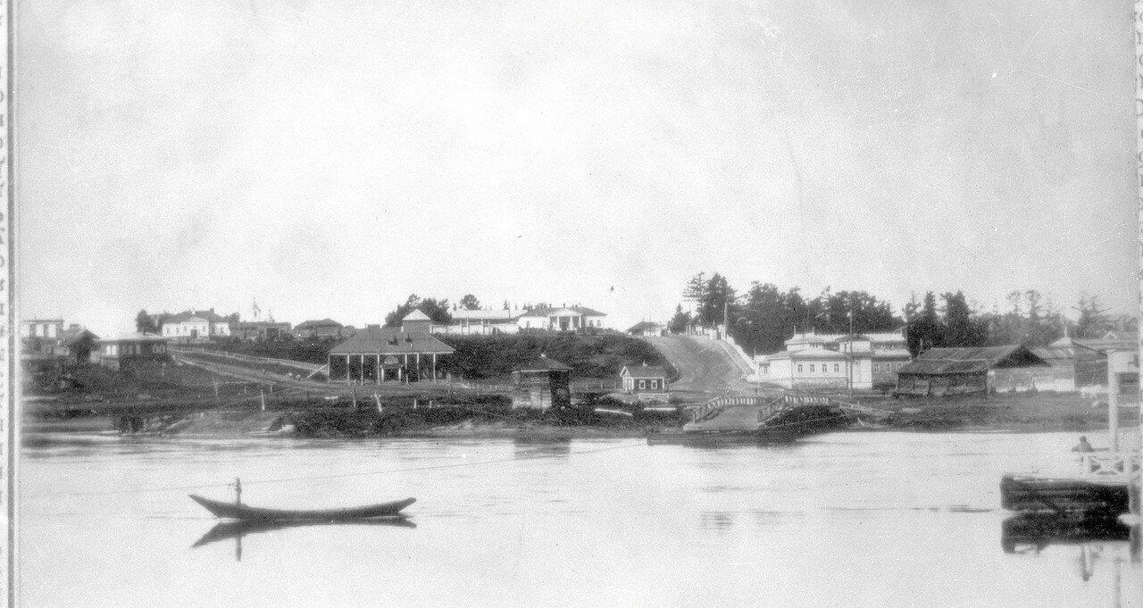 Вид на Усолье с Варничного острова
