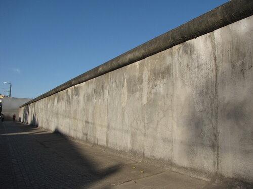 """""""Восстановленный"""" вид стены."""