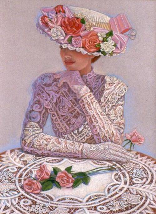 Такие очаровательные, нежные и романтичные.  И элегантные.  Вот так одеваться, как в ту эпоху мне бы нравилось.
