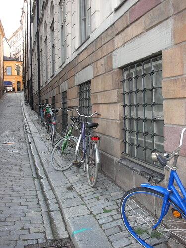 Стокгольм - город велосипедистов