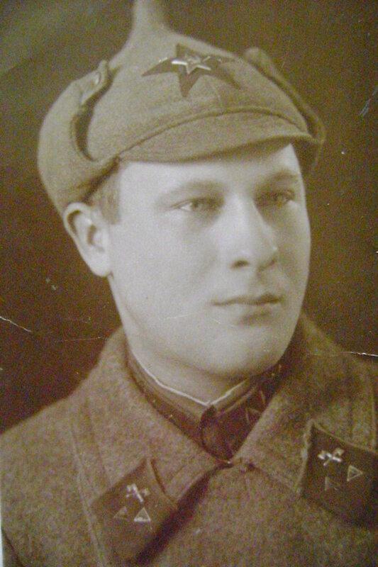 1937 год. Александр, брат моего деда.