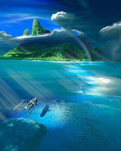 ...прожить жизнь с любовью и состраданием ко всем, кого нам пошлет Господь, а затем, взять их всех с собой из океана материи на берег...