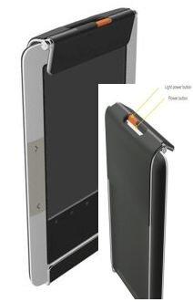 Мини-фонарик для подсветки основного экрана