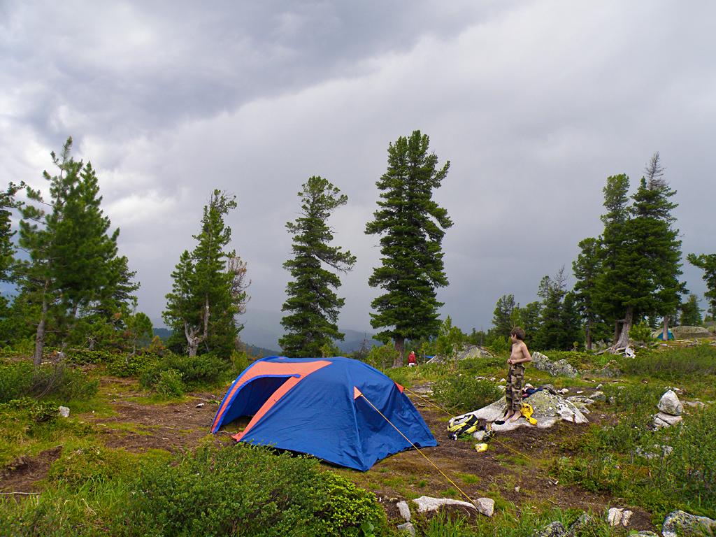 Наш лагерь на Каровом