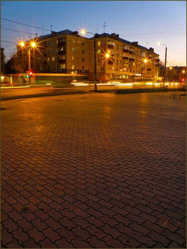Красноярск вечерний