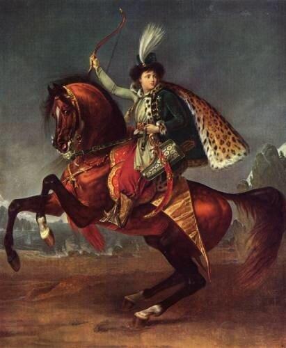 Портрет юного князя Бориса Николаевича Юсупова (прадед Феликса Юсупова мл.)