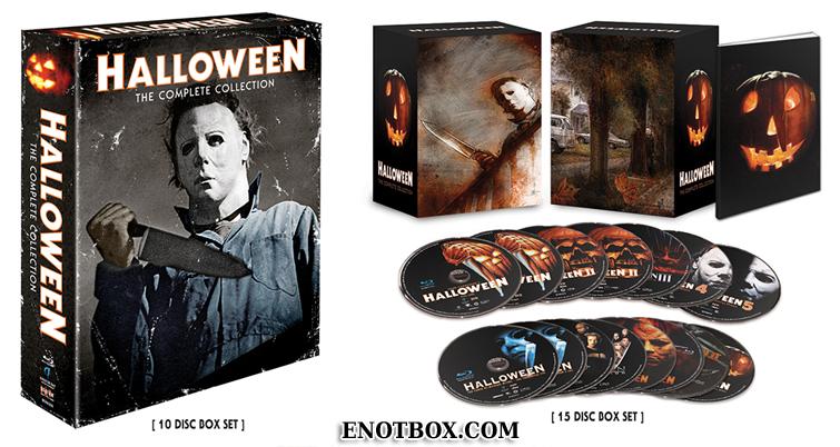 Хэллоуин. Коллекция / Halloween. The Complete Collection (1978-2009/BDRip-AVC)