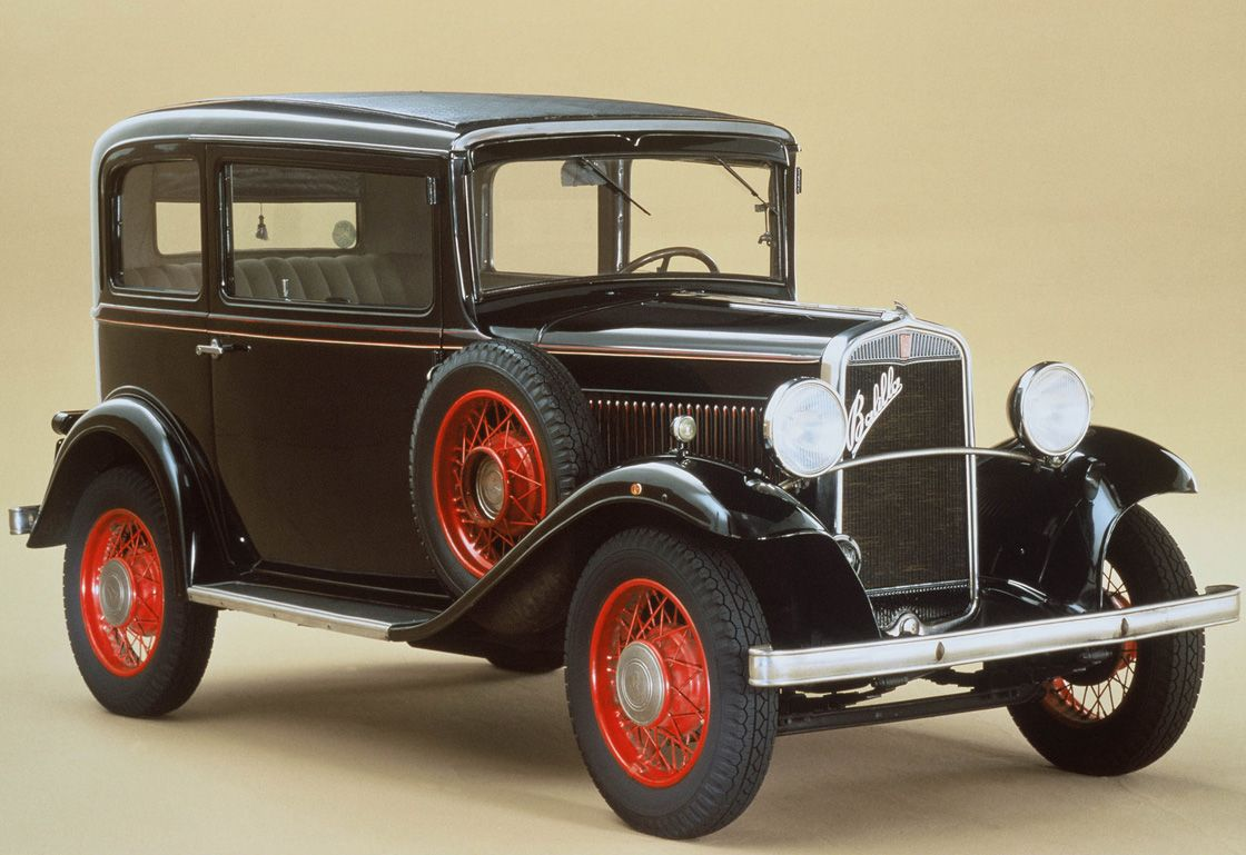 4 BMW 320 PS Tourer (1932)