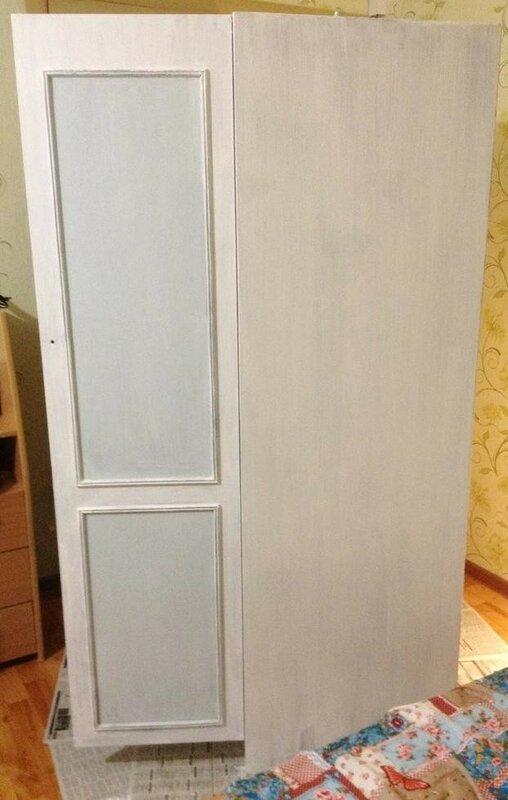 Как изменить цвет шкафа своими руками 53