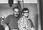 Отец и я, Калининград, февраль 1964 г.