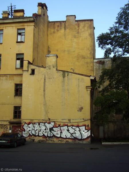 Граффити на Рижском пр., 34