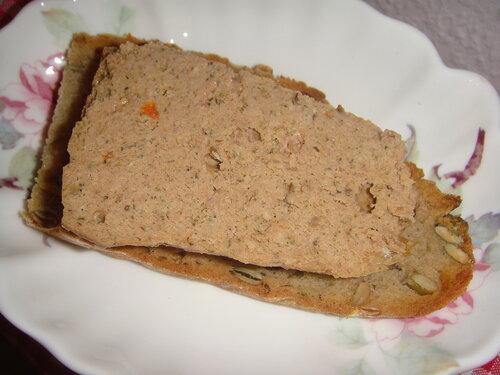 Домашняя варёная колбаса в банке