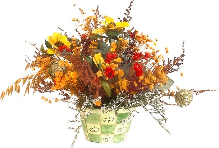 Экибана из искусственных цветов своими руками фото