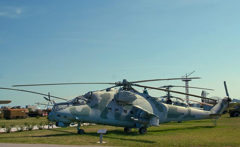 Технический музей Тольятти - вертолет