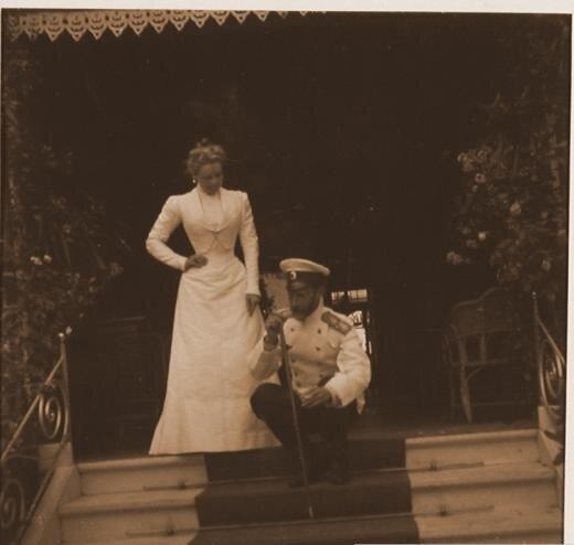 Княгиня Зинаида Николаевна Юсупова и Великий Князь Сергей Александрович.<br />