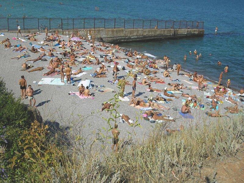 реальное видео с дикого пляжа