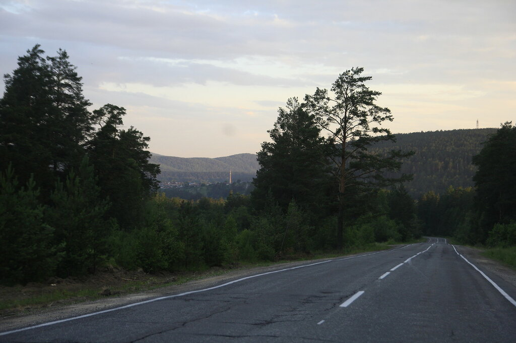 Вид на гору Моховую с Липовой