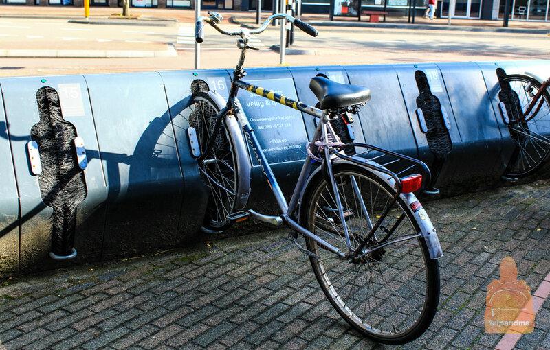 Необычная парковка для велосипедов