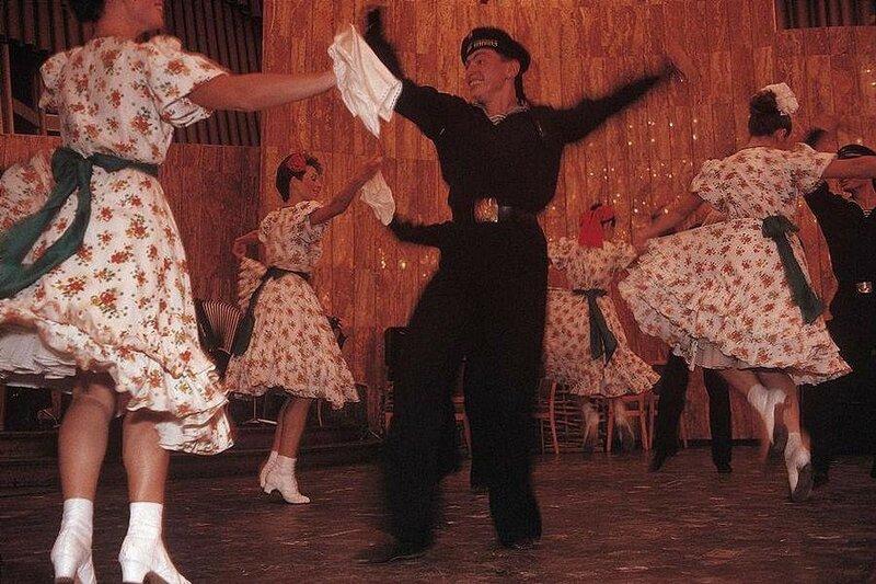 Ялта. Представление в гостинице. 1988 год.