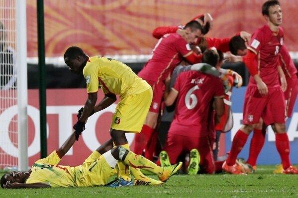 Сербдия, футбол, спорт, молодлежный чемпионат мира