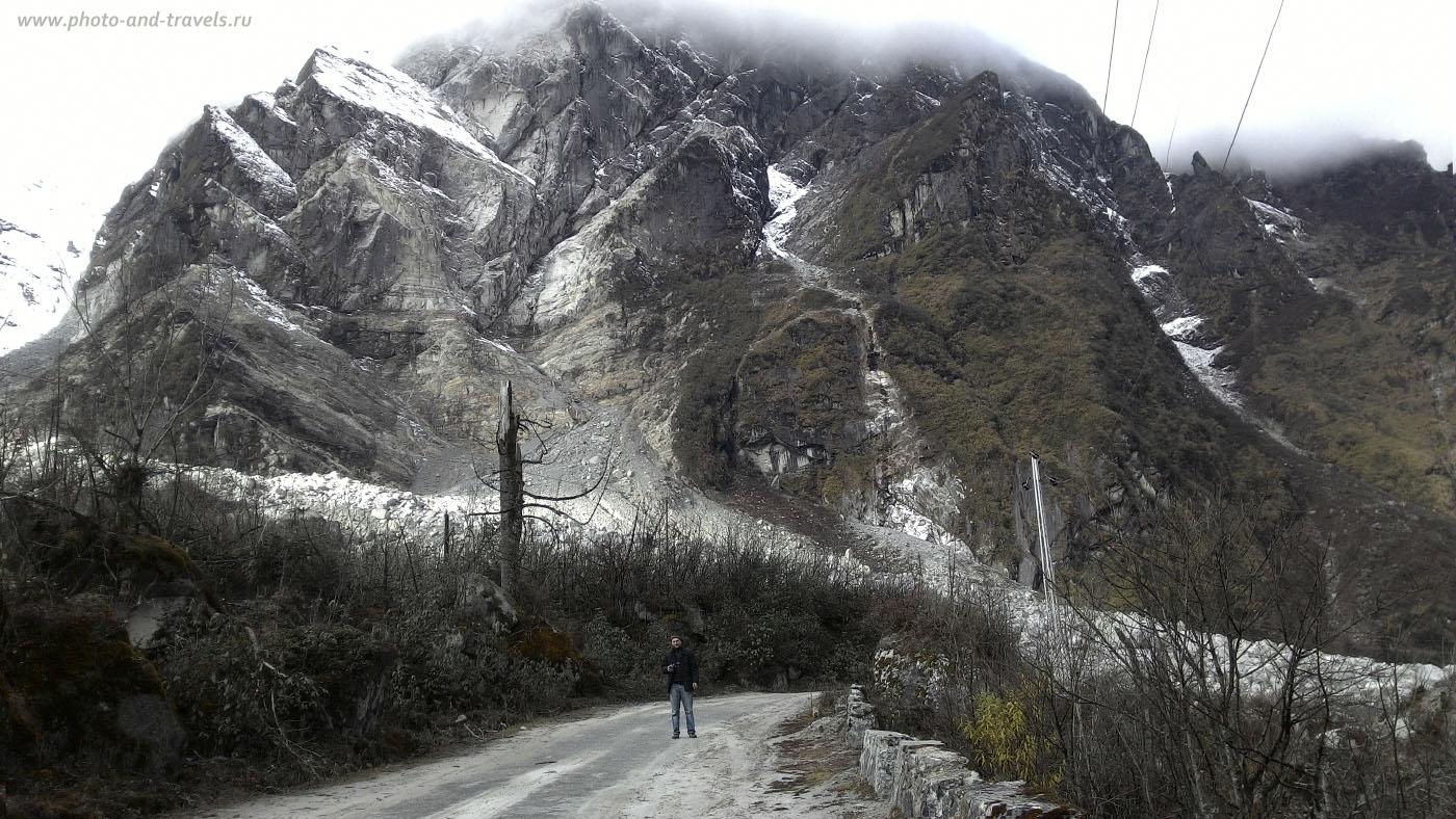 Фотография 29. Отзывы о поездке в штат Сикким. Красота индийских Гималаев. Снято на смартфон по пути в долину YumthangValley.