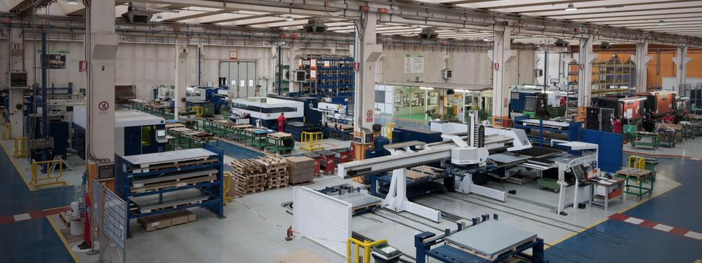 Завод вытяжных вентиляторов в Италии