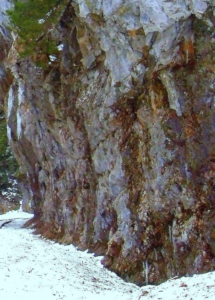 Зима, у каменной стены ... SDC18561.JPG