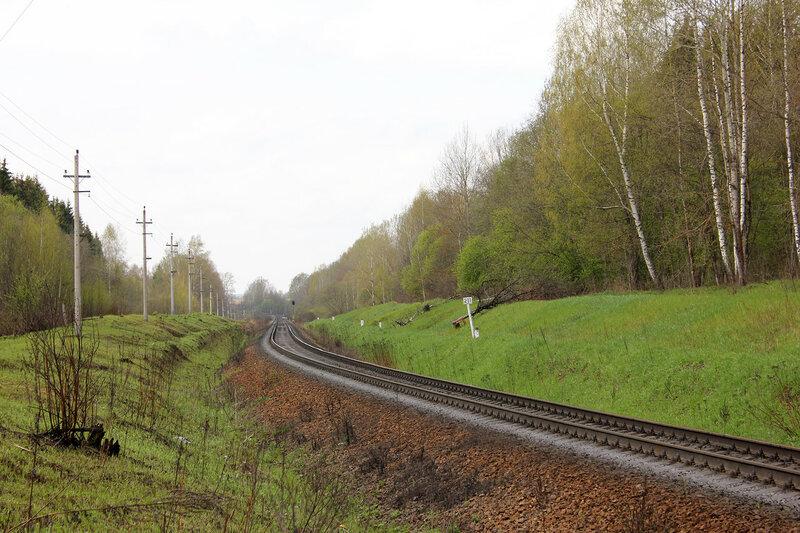 211-й км Рижского направления, перегон Бартенево - Зубцов