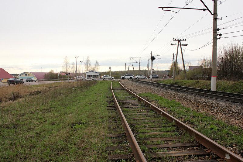 Переезд на станции Шаховская