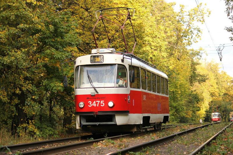 Трамвай 3475 у Диспансера