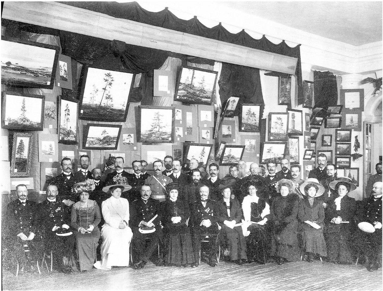 Гостиный Двор. Открытие выставки Русский Север. Август 1910