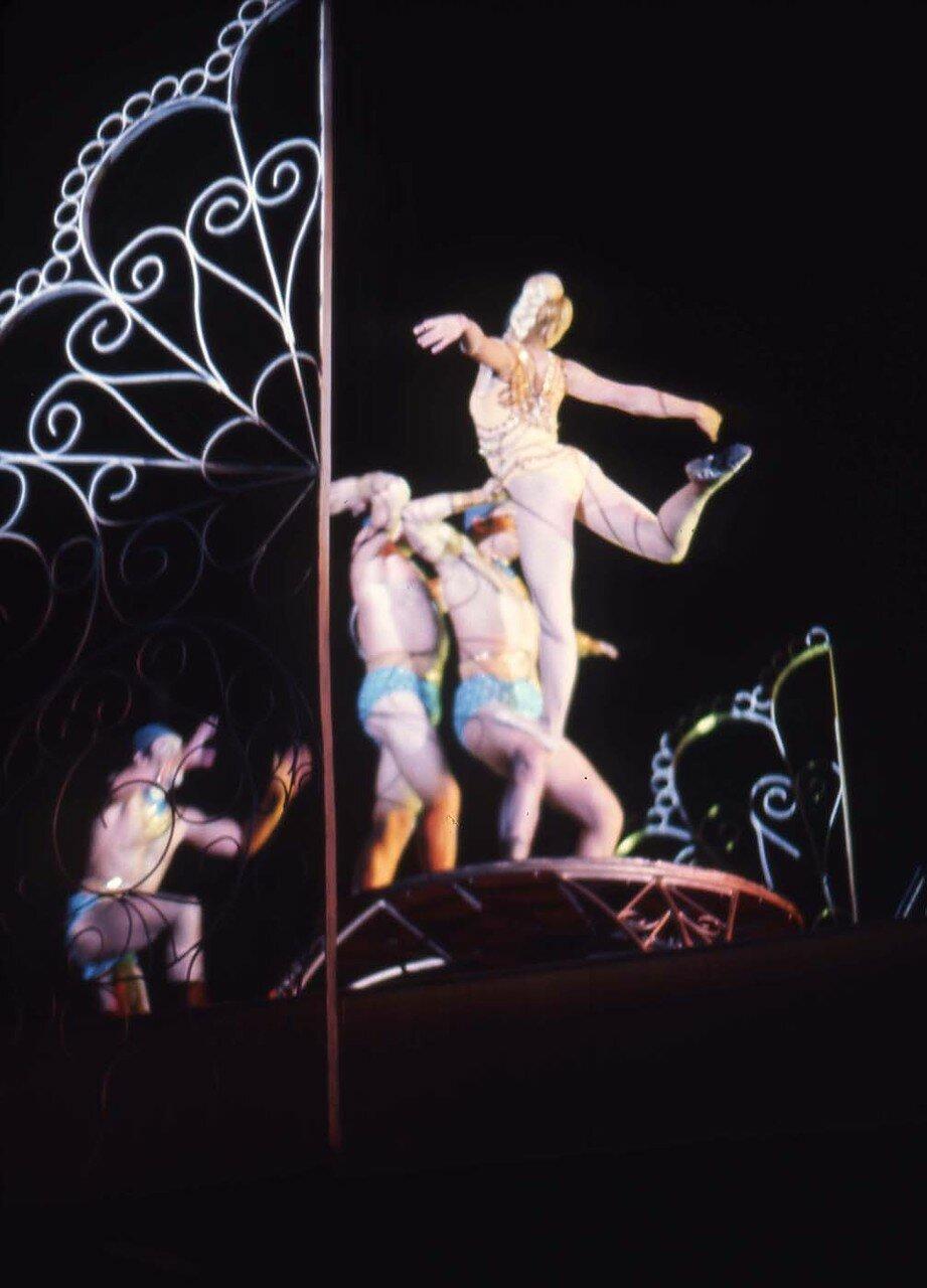 14. Московский цирк. Цирковое представление