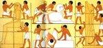 Фреска из гробницы Рехмира (Фивы)