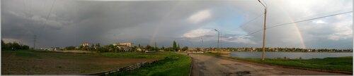 Панорама, фотопанорама города Баштанка