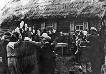 27 июля 1944 года. Собрание колхозников