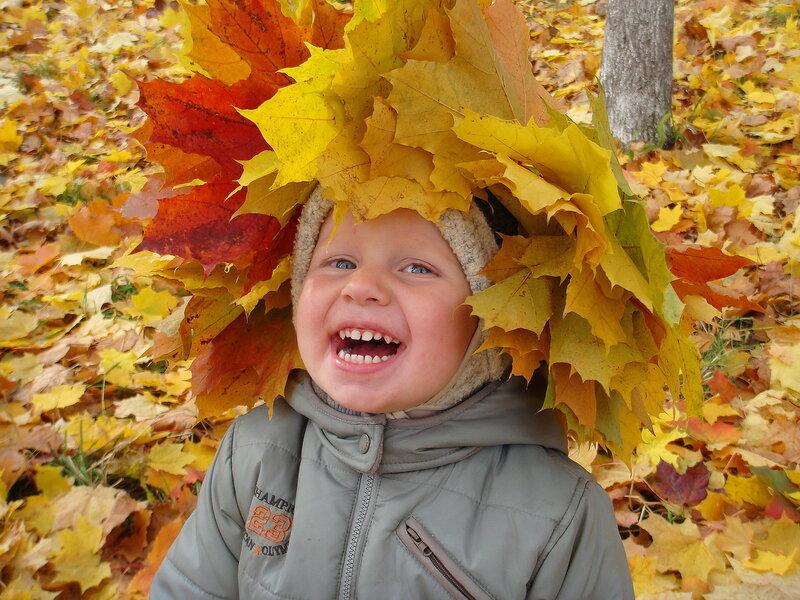 Осенняя смешинка