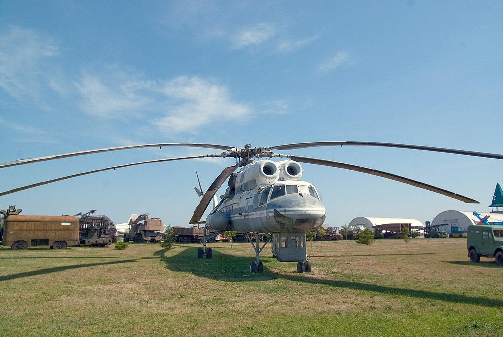 Технический музей Тольятти - грузовой вертолет