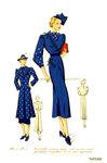 Женская мода 1937 года