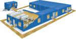 Модульные здания не строят - их изготавливают в заводских условиях, благодаря чему они и имеют...