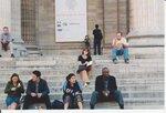На ступенях Пантеона