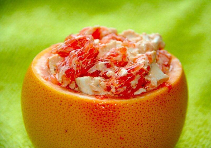 Оригинальный грейпфрутовый салат!