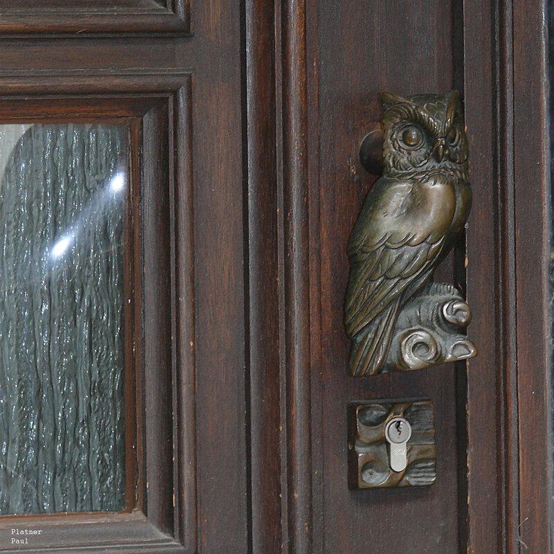 Эту сову увидел в одном из частных домов