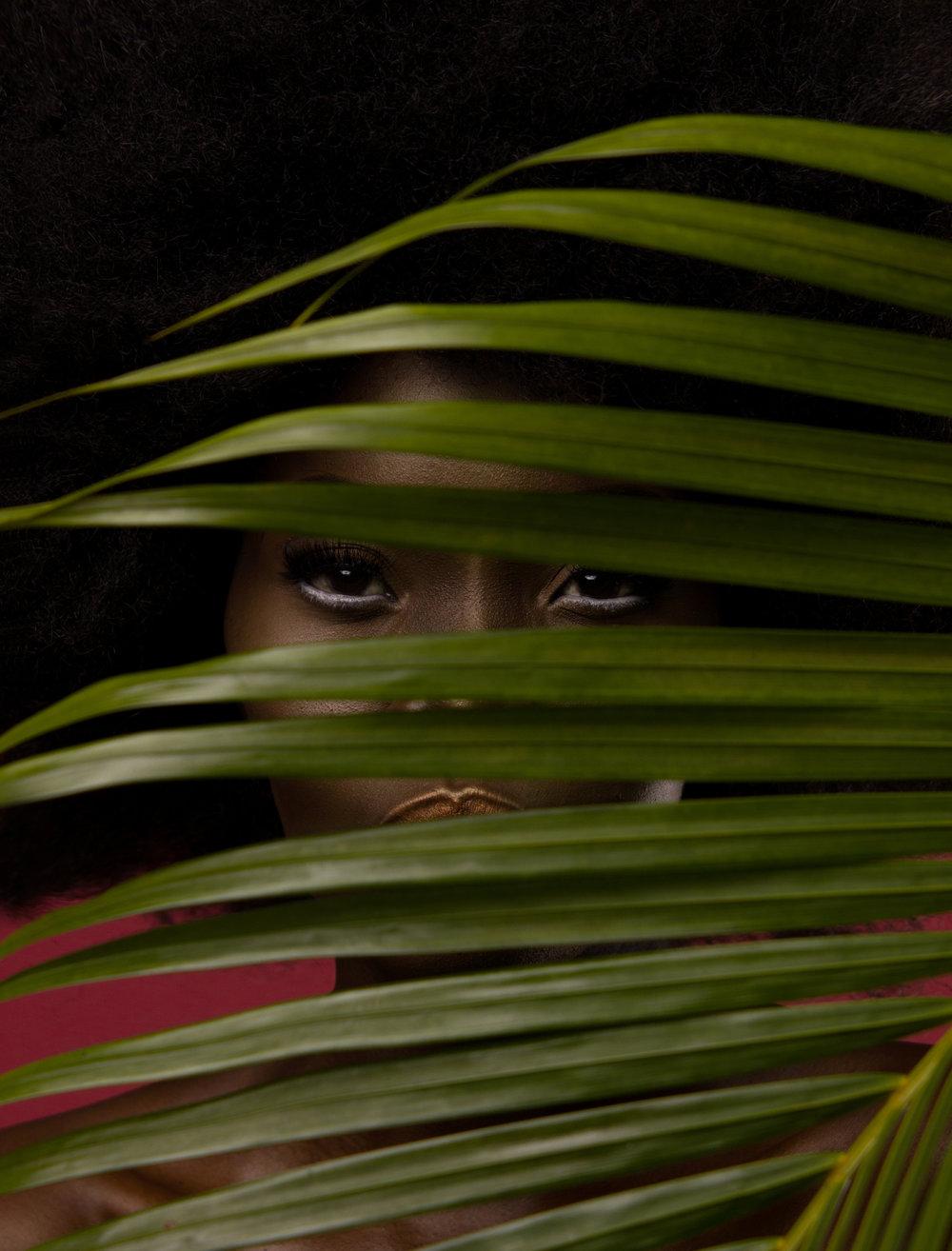 Чернокожие модели на снимках Артура Кифа